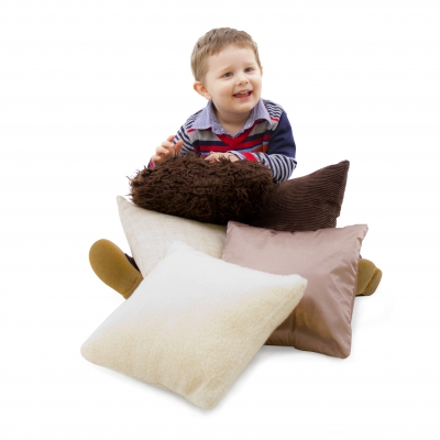 Sensory tactile cushions (pack of 5)